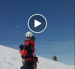 Jornada de formación y práctica de rescate de aludes en montaña del GRM (Grupo de Rescate de Montaña)