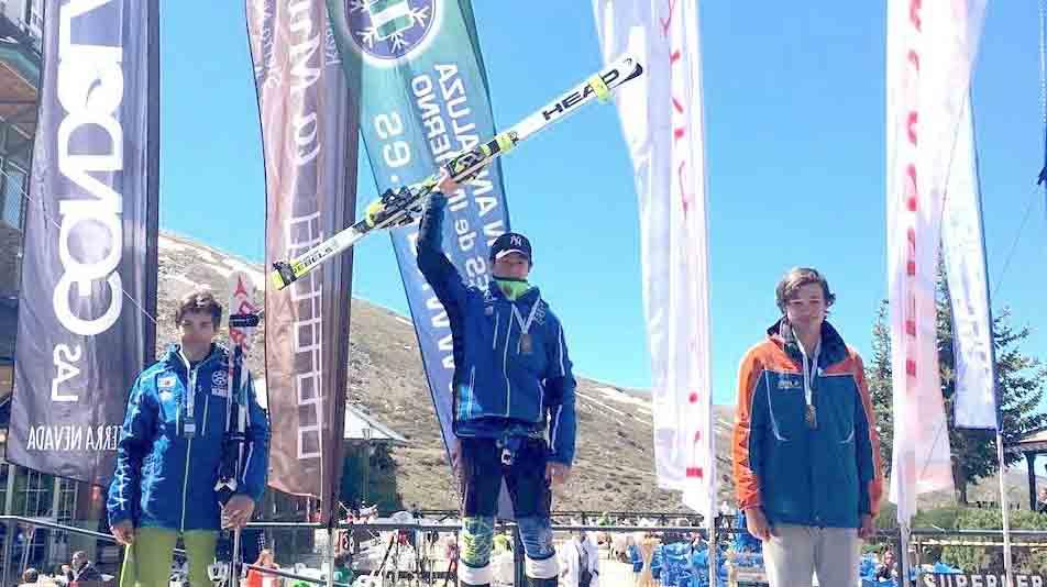 Nuevos campeones de Andalucía en esquí alpino U14 y U16