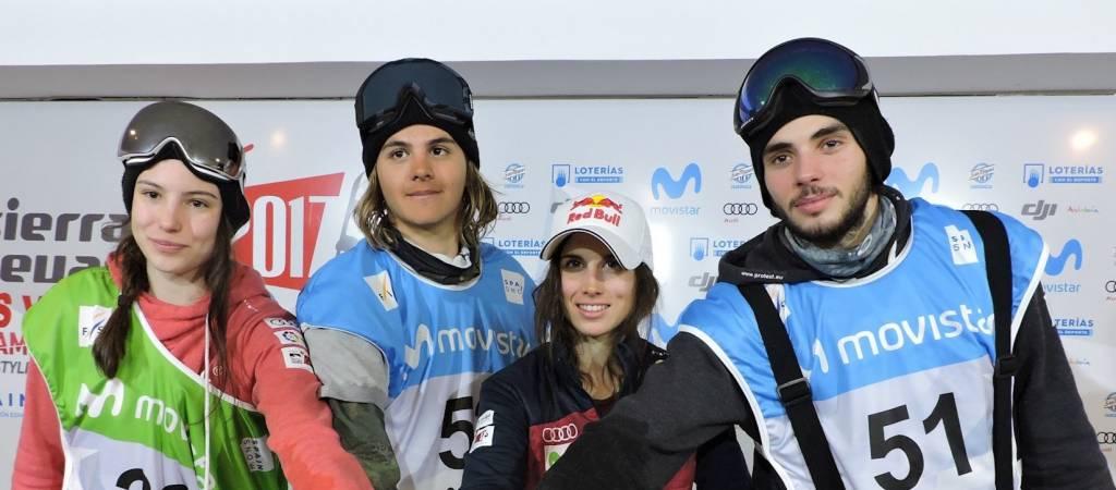Los mundialistas en Sierra Nevada 2017 se citan en el Campeonato de España de Slopestyle y freestyleski