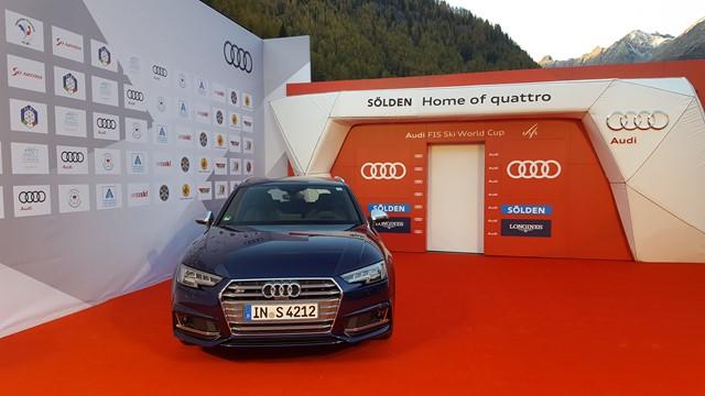 Audi amplía el patrocinio con la Copa del Mundo de Esquí Alpino