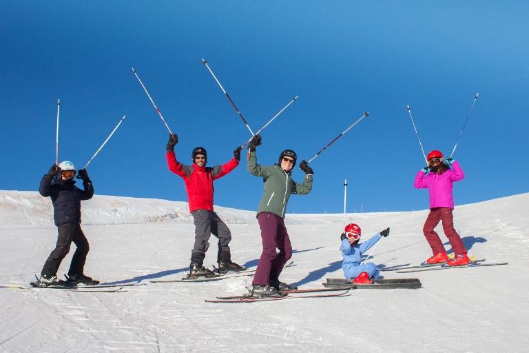 Técncia Alpina, la elección de los bastones de esquí