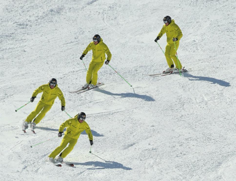 Tecnica Esqui Actitud Estatica