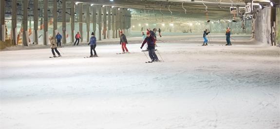 Landgraaf, paraíso del esquí indoor