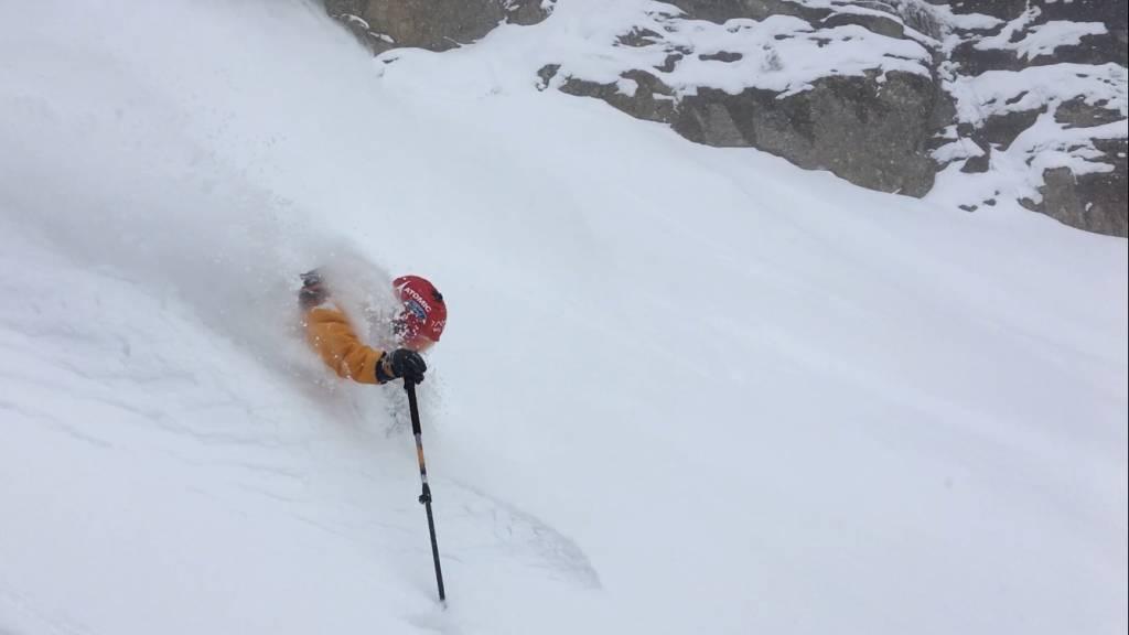 Aymar Navarro, ganador del premio  al mejor esquiador europeo del año