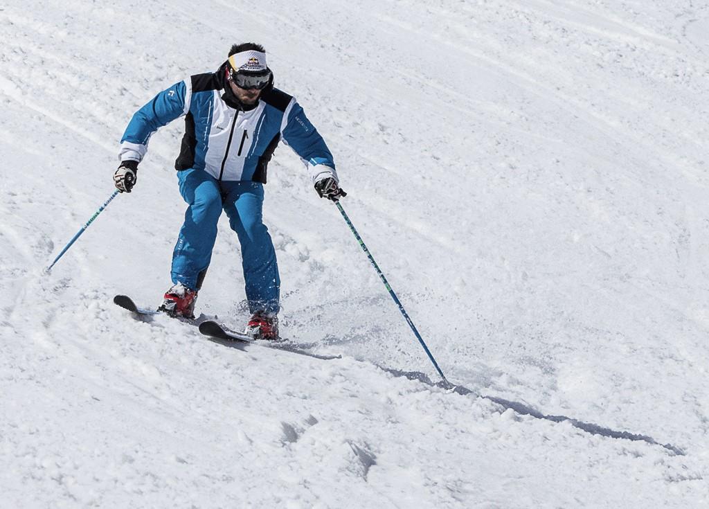 Tecnica esqui en continuo movimiento 2