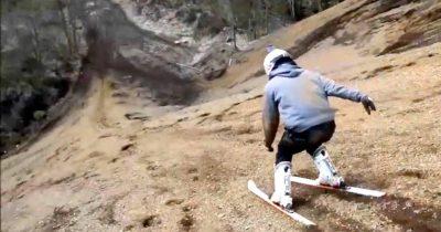 Esqui sin nieve