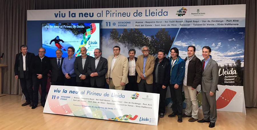 Las estaciones de Lleida esperan superar los 1.300.000 forfaits venidos