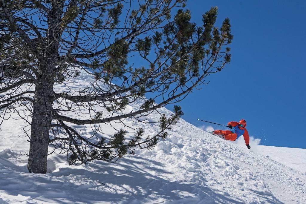 Elegir la talla del esqui nivel y preferencias