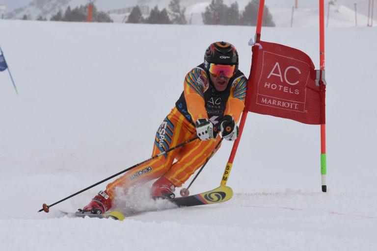 Arranca la Copa de España Masters de esquí alpino en Baqueira Beret