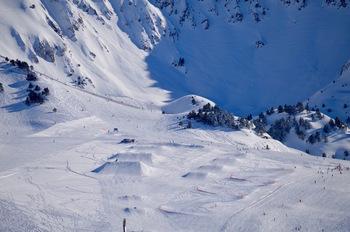 El freestyle gana terreno en Baqueira Beret con el snowpark Era Marmòta