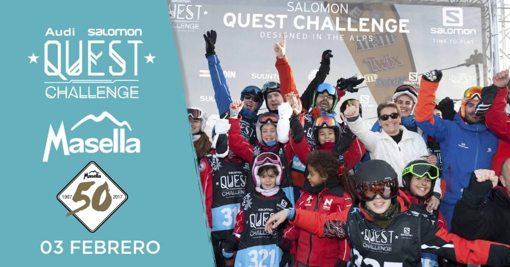 Audi Salomon Quest Challenge Masella