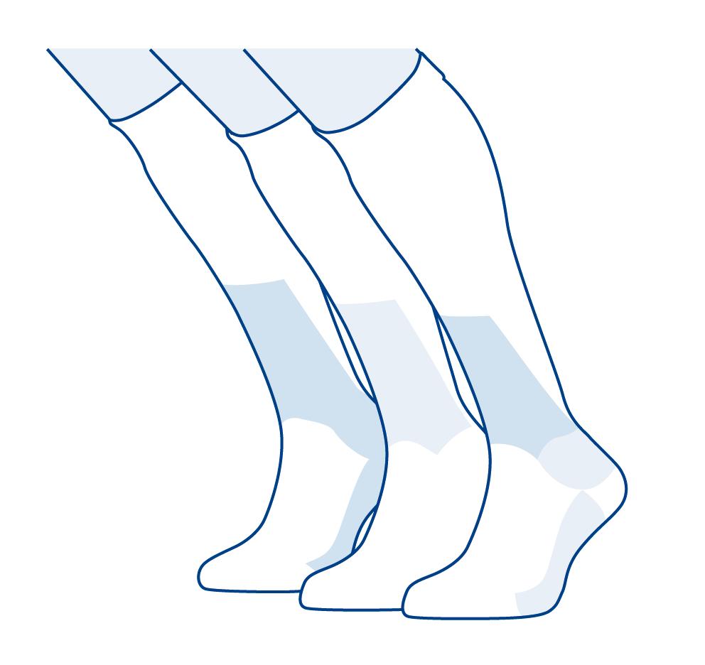 calcetines para esquiar