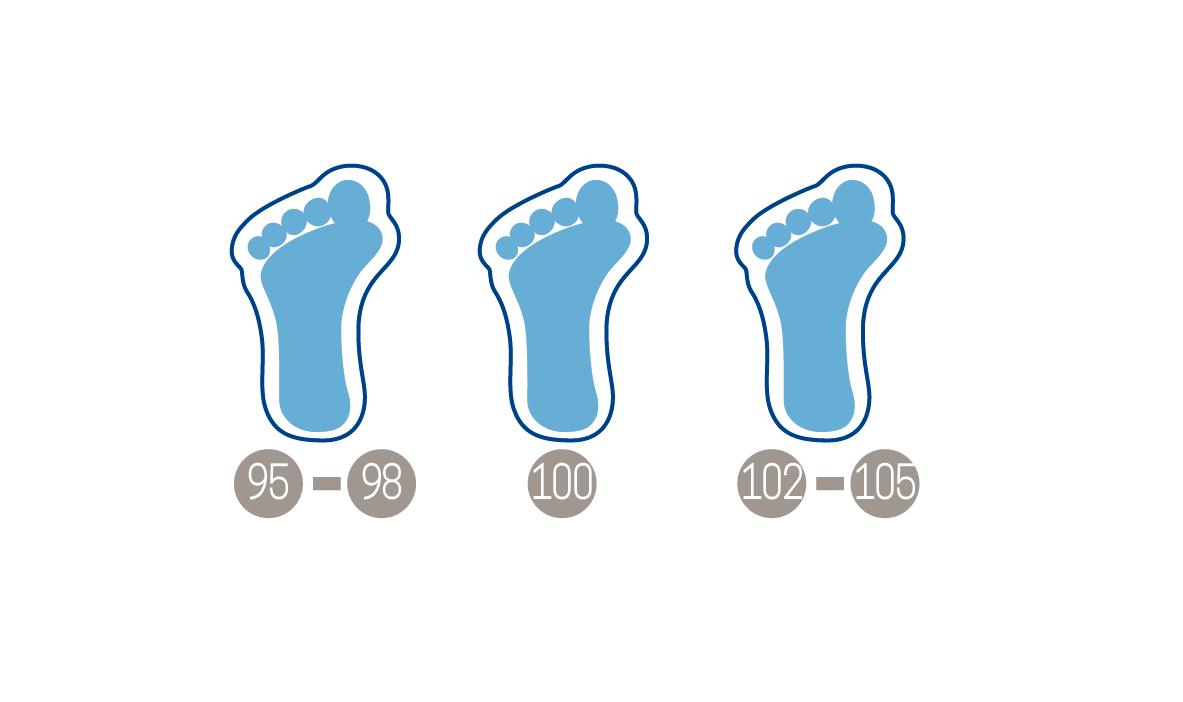 horma de las botas de esquí