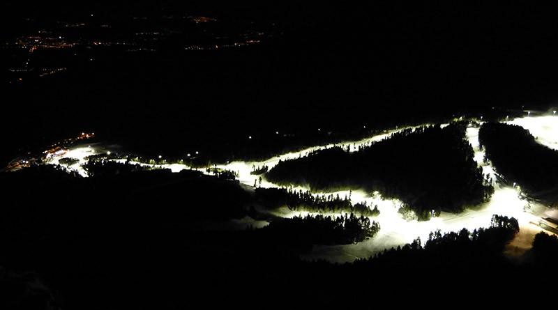 ¿Esquiar de noche? ¡Sí!