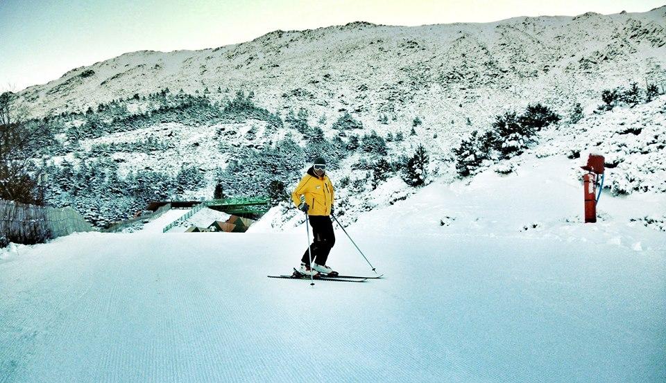 Apúntate a los cursos de esquí en la estación de La Pinilla