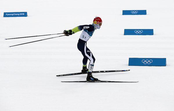Imanol Rojo inaugura la participación española en PyeongChang 2018