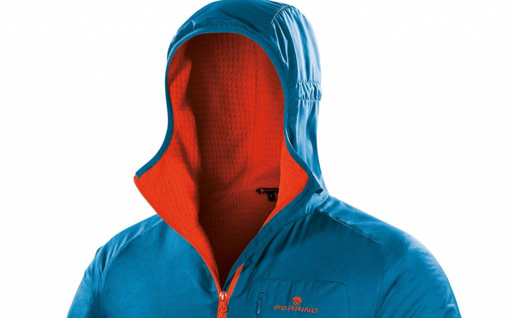 Ferrino desarrolla la Breithorn Jacket con el innovador tejido técnico Polartec Alpha Direct