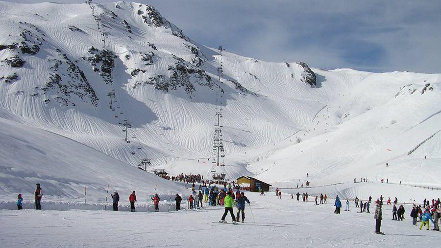 Fuentes de Invierno marca el máximo espesor en España con cuatro metros de nieve