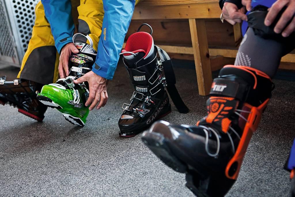 rangos dureza botas de esquí