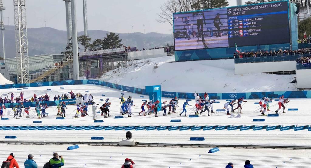 Imanol Rojo, 35º, en los 50km clásico de los JJOO de PyeongChang 2018