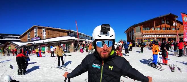 Peter Sagan disfruta del esquí en Sierra Nevada