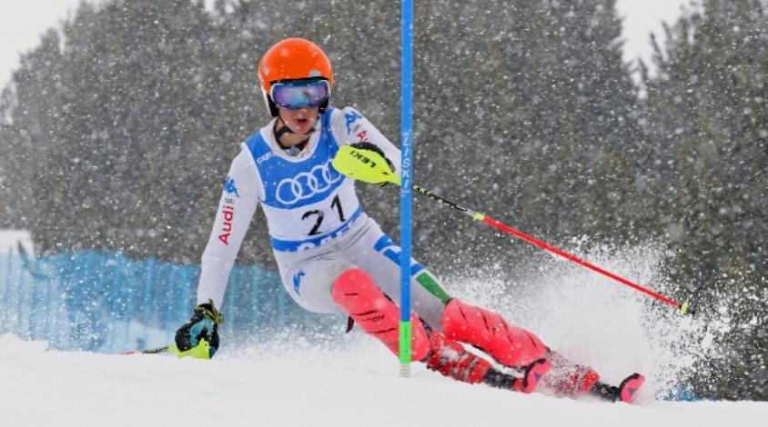 Inicio de la Copa España CIT de esquí alpino en Baqueira Beret