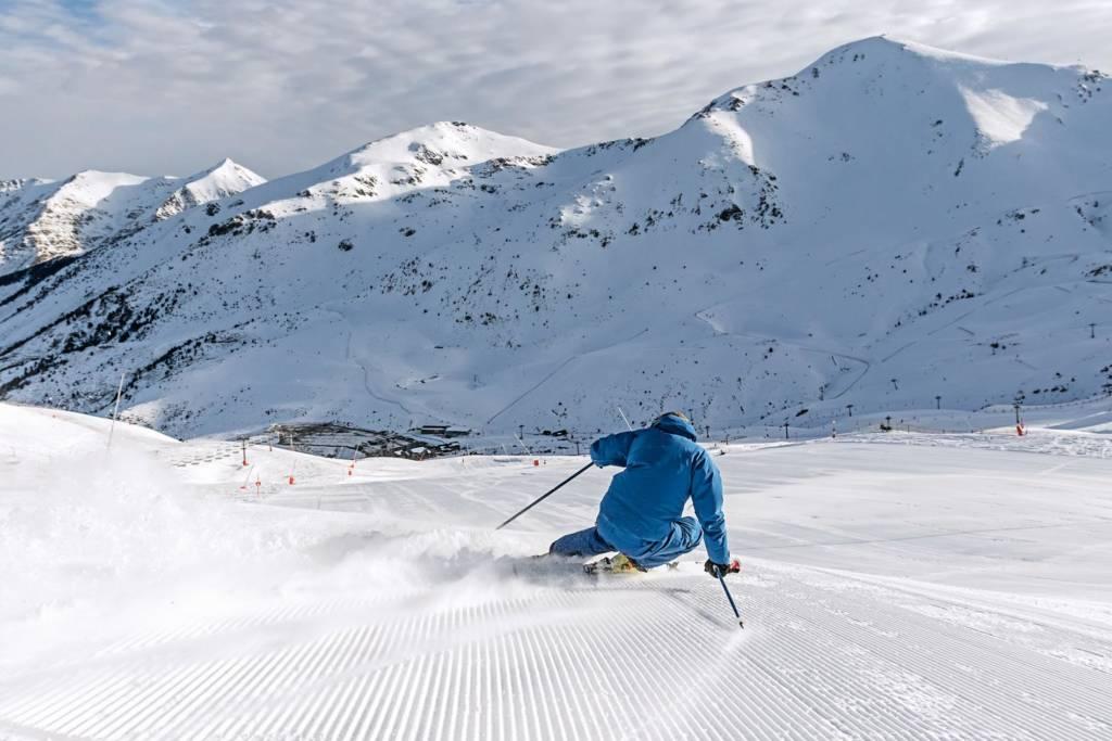 Esquiar por presión o por carga