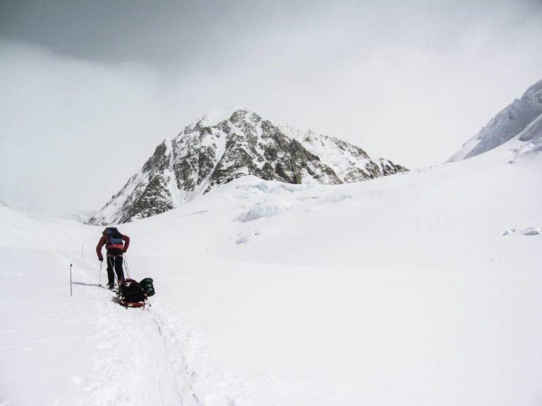 basura acumulada en el Everest