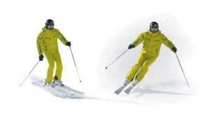 Técnica de esquí: El viraje por salto