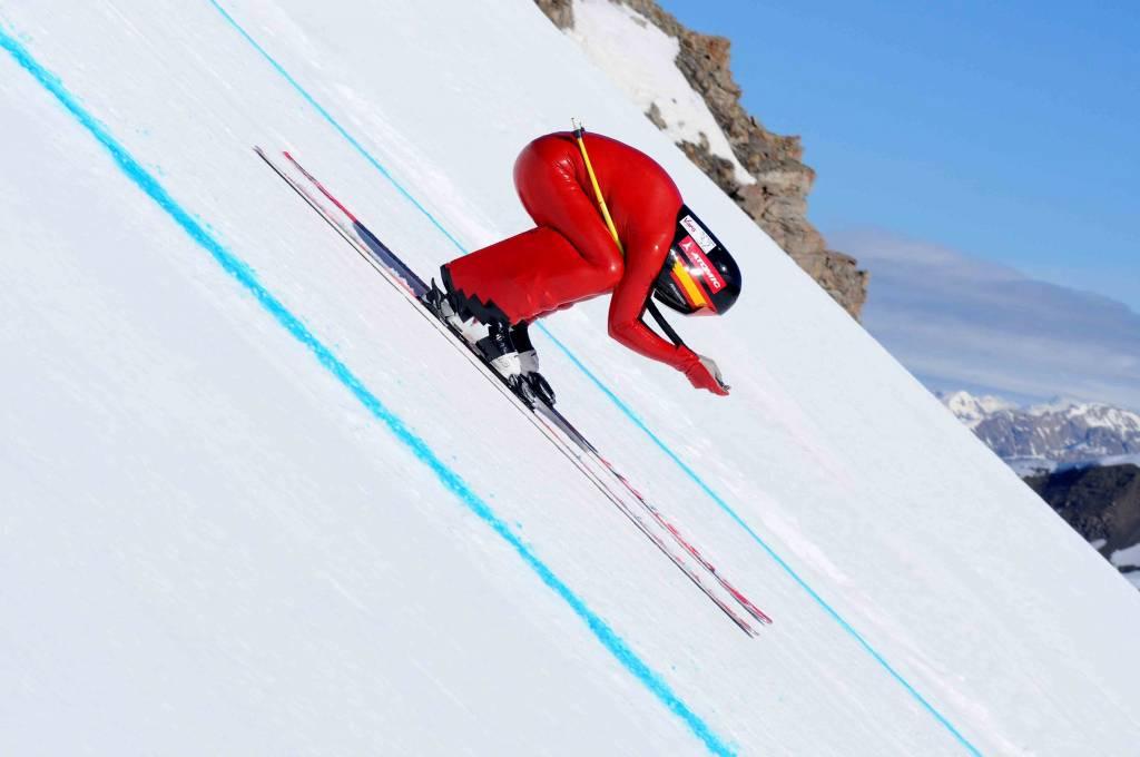 curiosidades del esqui de velocidad