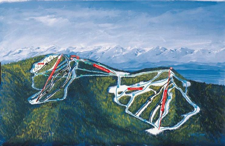estación de esquí en venta