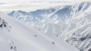 En las nieves de Persia