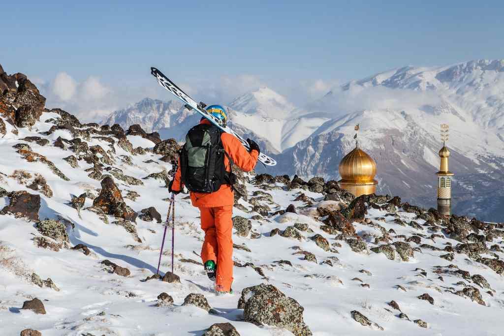 esquiar en Persia