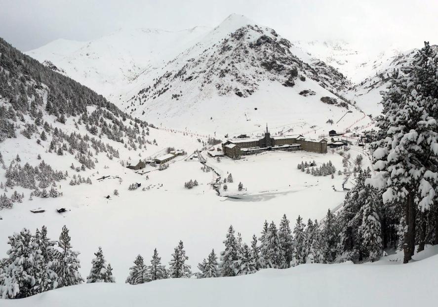 resultados estaciones de esquí catalanas Núria