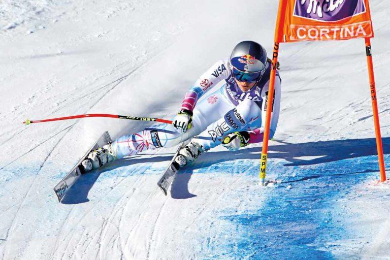 Lindsey Vonn se lesiona y será baja en la Copa del Mundo de Lake Louise