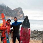 Esquí & surf en el Ártico