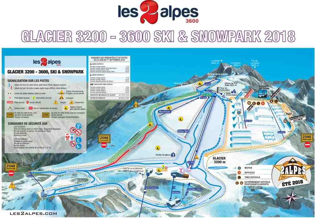 apertura de Les 2 Alpes