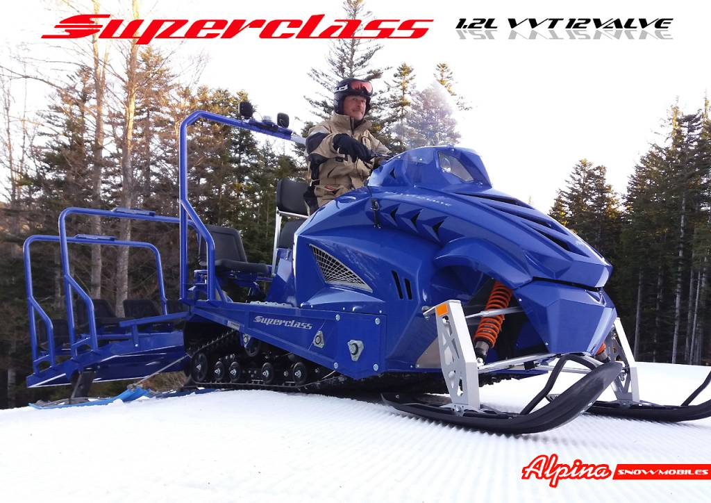 Snowmobile Alpina Superclass