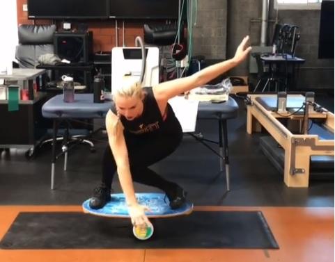 entrenar como Lindsey Vonn