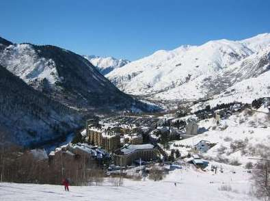 estación de esquí sin remontes vall d'aran