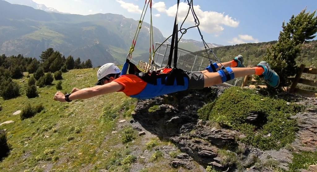 Disfrutar las estaciones de esquí en verano.