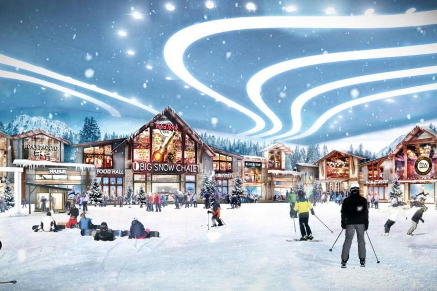 American Dream pista esquí indoor miami