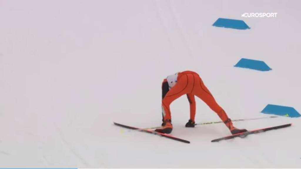 peor esquiador del mundo