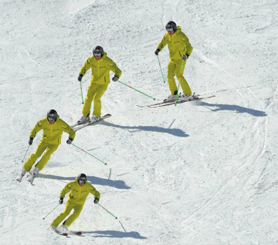 Tecnica Esqui Actitud Dinamica