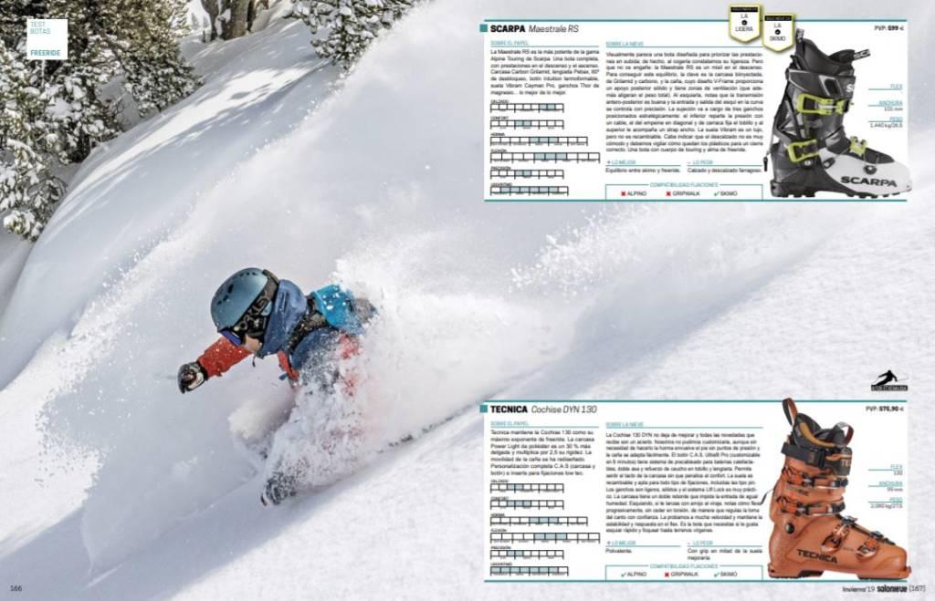 Catálogo Solo Nieve 2019 Test Botas