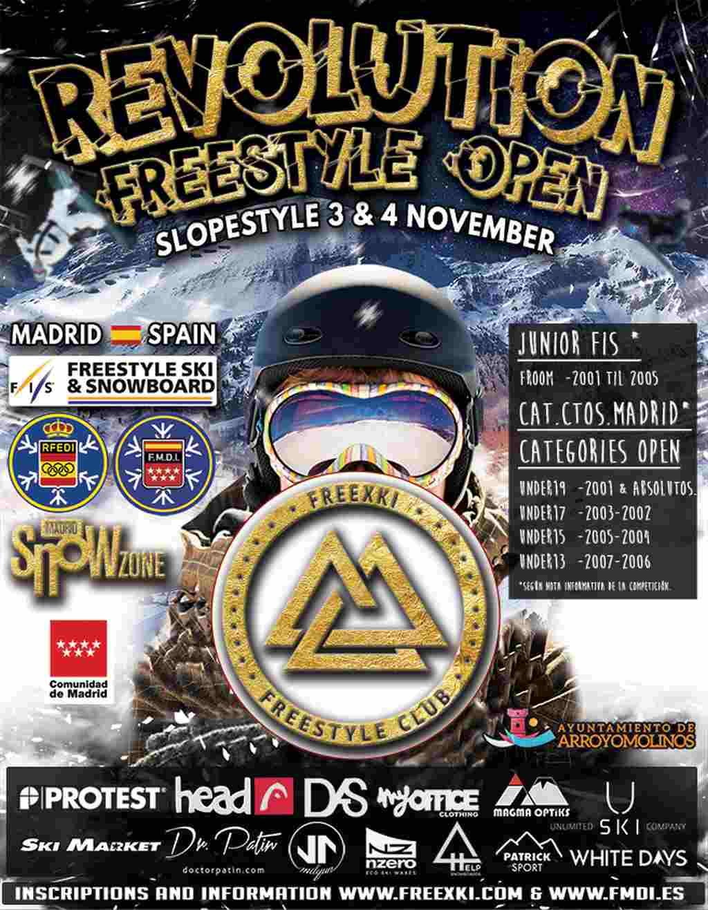 Revolution Freestyle Open 2018