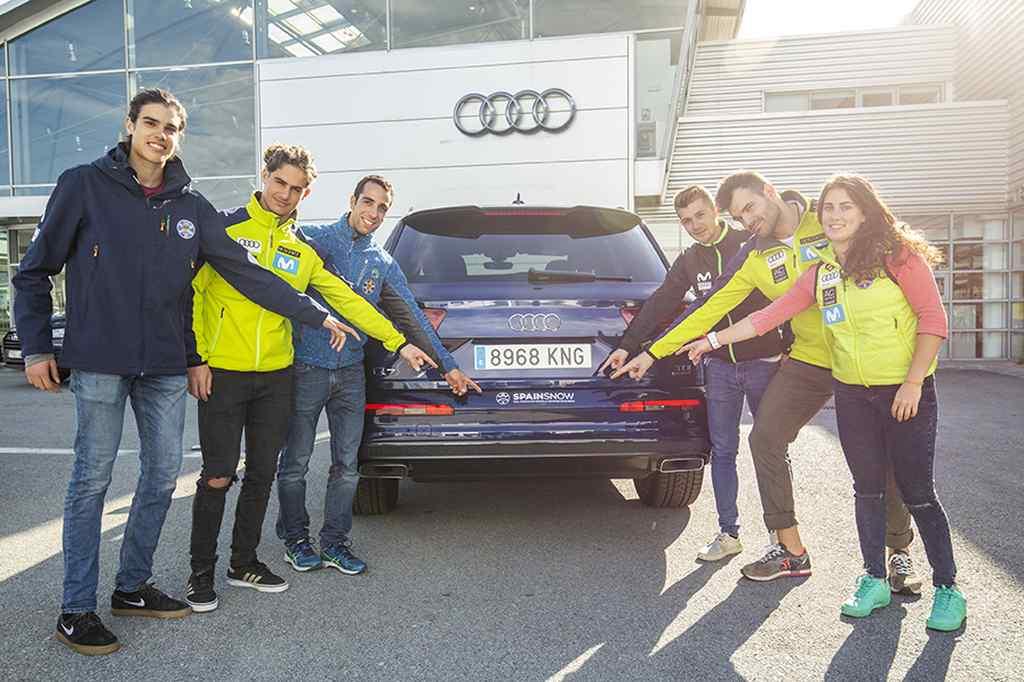 Audi y la RFEDI renuevan su acuerdo de colaboración