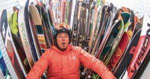 Cómo elegir la talla de los esquís