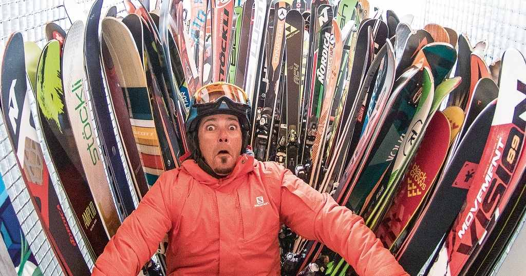 elegir la talla de los esquís