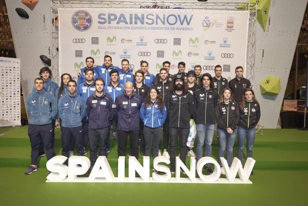equipos nacionales de la RFEDI 2018-2019